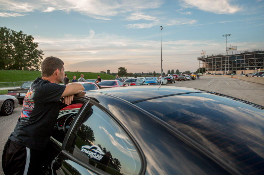 Route 66 Raceway Staging Lanes