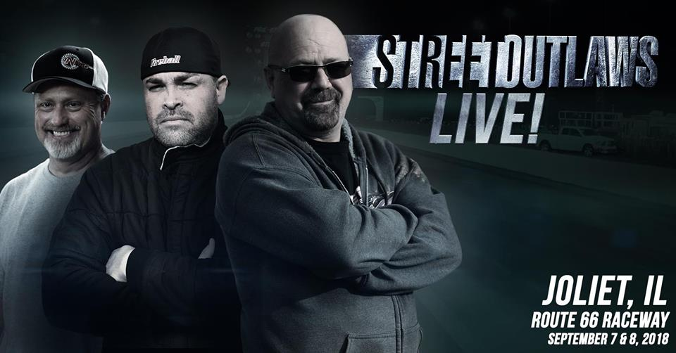 Street Outlaws is coming to Route 66 Raceway | Mark Quitter Racing